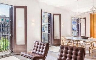 luxury apartment Barcelona Rambla de Catalunya