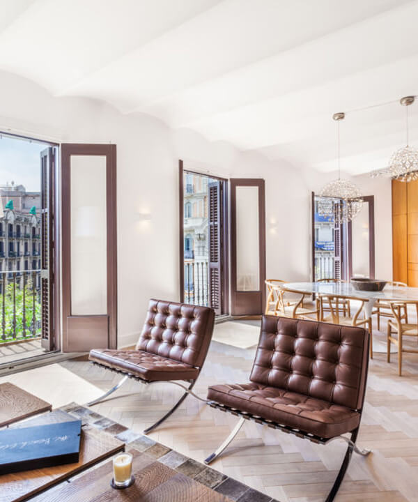 Luxury Apartment Barcelona: Rambla De Catalunya Luxury Apartment For Sale In Barcelona