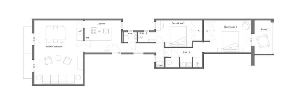 luxury-apartment-barcelona-eixample-provenza-floorplan
